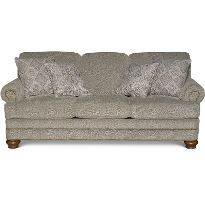 Casual Traditional Urban Wheat Sofa Reed
