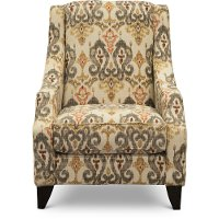 Casual Traditional Saffron Accent Chair - Bereta
