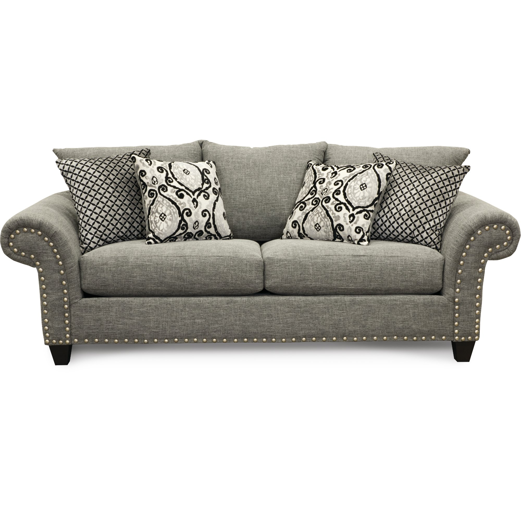 Casual Traditional Carbon Gray Sofa   Paradigm | RC Willey Furniture Store