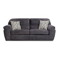 Casual Contemporary Steel Blue Sofa - Imprint