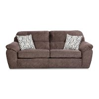 Casual Contemporary Cocoa Brown Sofa Bed - Imprint