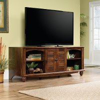 62 Inch Cherry Brown TV Stand - Harbor View