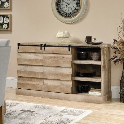 60 Inch Lintel Oak Rustic TV Stand Cannery Bridge RC Willey