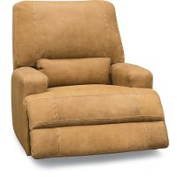 Casual Contemporary Palomino Brown Power Recliner - Stallone