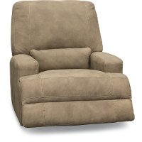 Casual Contemporary Greystone Power Recliner - Stallone
