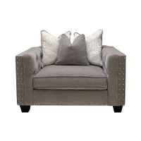Traditional Gray Chair - Caprice