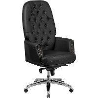 Executive Tufted Multifunction Swivel Chair