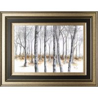 At Peace Forest of Trees Framed Wall Art