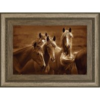 Bad Girls Horses Framed Wall Art