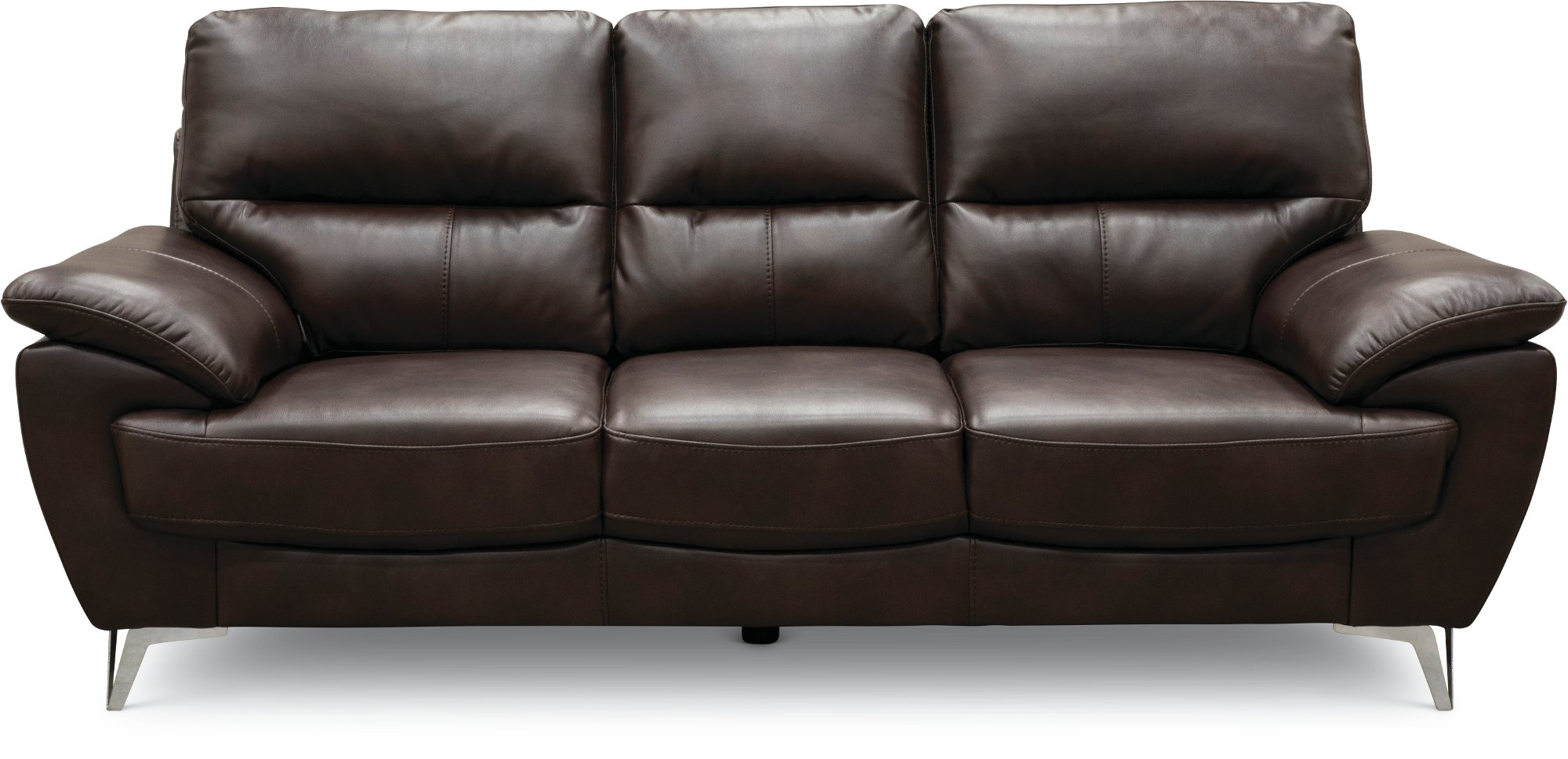 Contemporary Chocolate Brown Sofa Loveseat Set Galactica Rc Willey Furniture Store