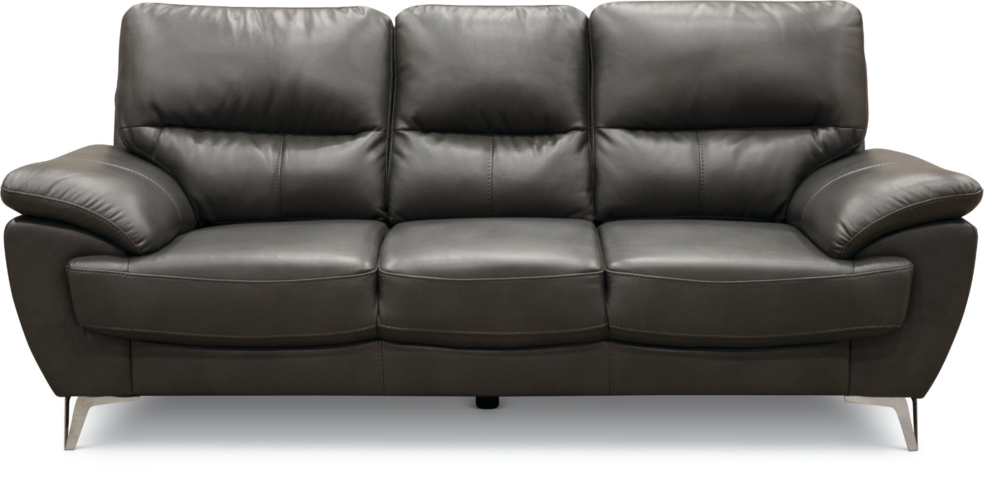 Contemporary Dark Gray Sofa