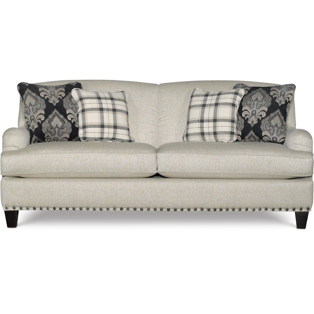 Willey Furniture: Rc Willey Sofas Clic Traditional Brown Sofa Loveseat Set