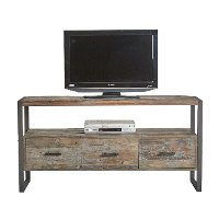 60 Inch Antique Gray TV Stand - Brixton