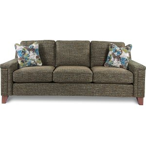 Superior 610 630/D144828/SO Clearance Contemporary Forest Green Sofa   Hazel