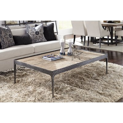 Reclaimed Pine Coffee Table Cromwell RC Willey Furniture Store