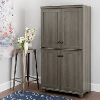 Hopedale 4 Door Storage Armoire Rc Willey Furniture Store