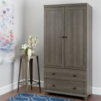 10325 Storage Armoire With 2 Drawers - Hopedale