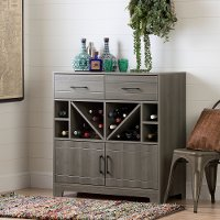 11030 Bar Cabinet with Bottle Storage and Drawers - Vietti