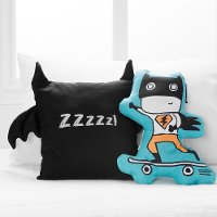 100098 Superheroes Throw Pillows, 2- Pack - Dreamit