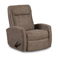 Tan Wideseat Manual Rocker Recliner - Skyler