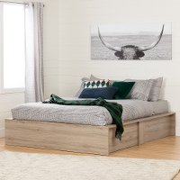 10771 Ottoman Queen storage bed (60 Inch) - Fusion