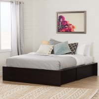 11252 Ottoman Queen storage bed (60 Inch) - Fusion