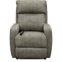 Gray Power Recliner - Primo