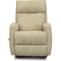 Tan Manual Rocker Recliner - Primo