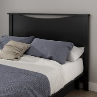 10223 Black Full/Queen Headboard - Gramercy