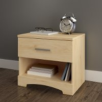 10455 Natural Maple 1-Drawer Nightstand - Gramercy
