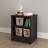 10434 Gray Oak Open Nightstand - Libra