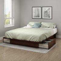 10444 Cherry Full/Queen Platform Bed - Step One