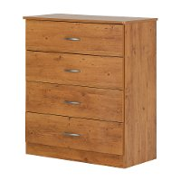 10683 Country Pine 4-Drawer Chest - Libra