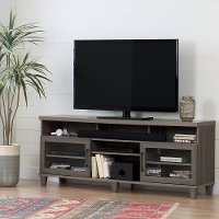 10562 Gray Maple TV Stand up to 70 Inch - Adrian
