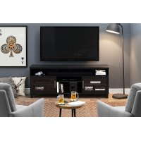 10563 Black Oak TV Stand up to 70 Inch - Adrian