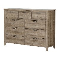 11018 Weathered Oak Sideboard - Lionel