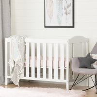10721 Crib with Toddler Rail - Reevo