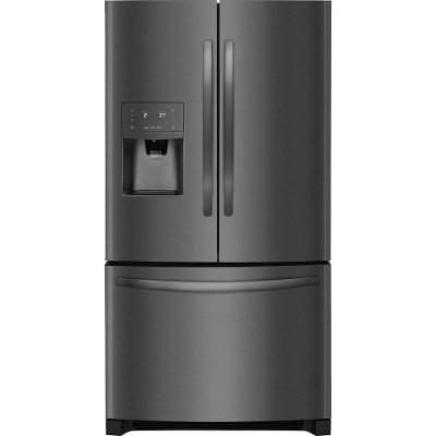 FFHB2750TD Frigidaire French Door Refrigerator - 36 Inch Black Stainless Steel