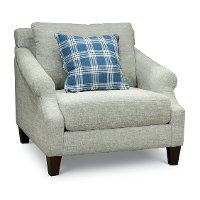Casual Classic Silverpine Gray Chair - Nora