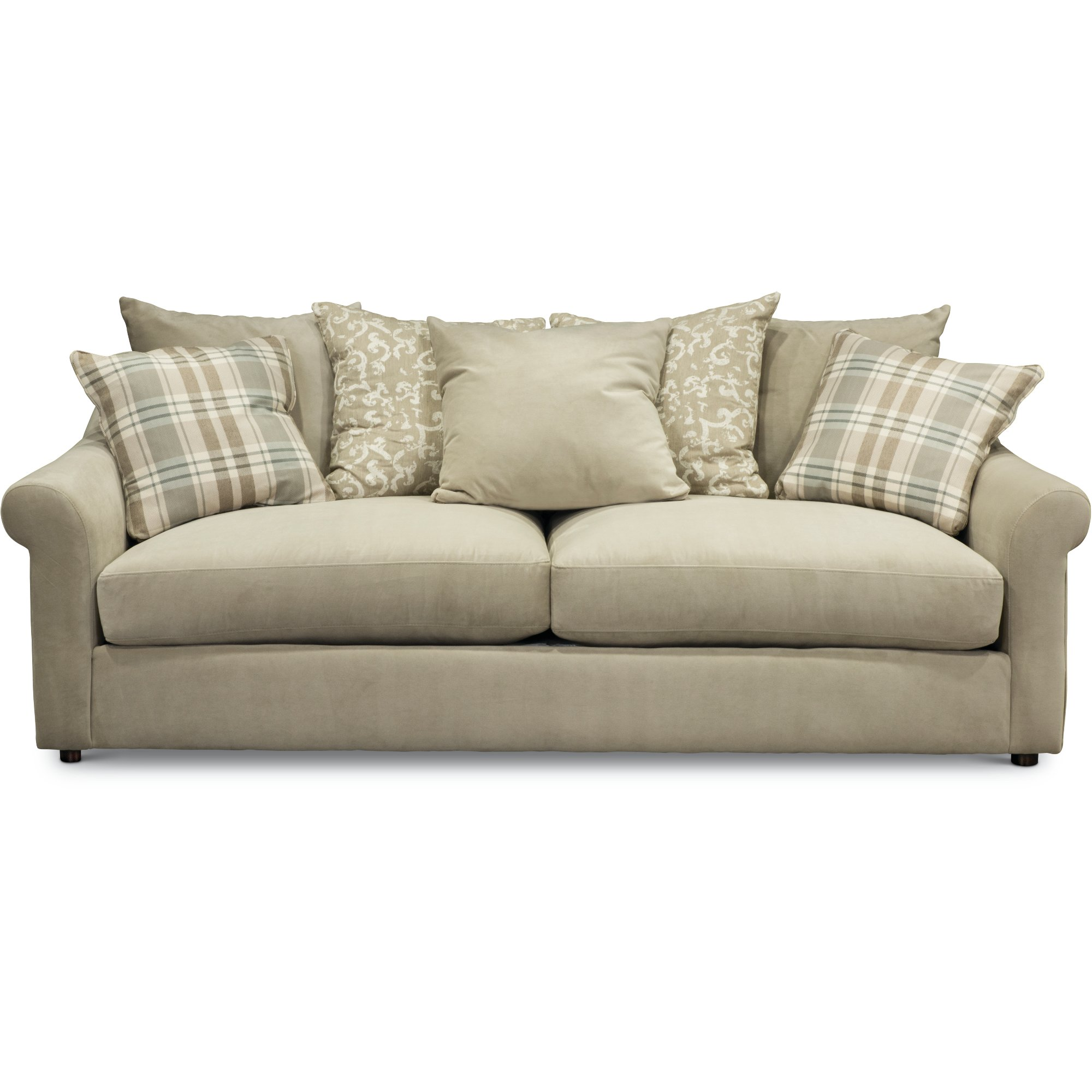 ... Casual Traditional Oyster Cream Sofa - Gavin ...  sc 1 st  RC Willey : bauhaus sectional couch - Sectionals, Sofas & Couches