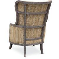 ... Traditional Pottery Tan Accent Chair   Alston 2