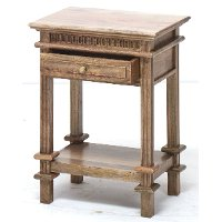 Brown Side Table - Giovanni