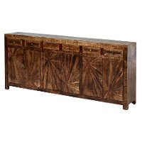Brown Jumbo Side Board - Cayley Collection