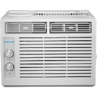 EARC5MD1 5,000 BTU 115V Window Air Conditioner with Mechanical Rotary Controls