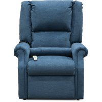 Graceland Mystic Blue Lift Chair - Layflat