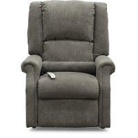 Graceland Slate Gray Lift Chair - Layflat