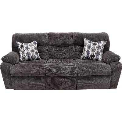 Chocolate Brown Power Reclining Sofa - Tribute