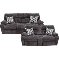 Chocolate Brown Power Reclining Living Room Set - Tribute