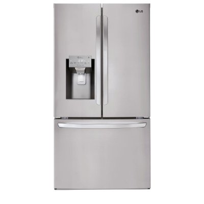 LFXS28968S LG 27.9 cu. ft. French Door Smart Refrigerator - 36 Inch Stainless Steel