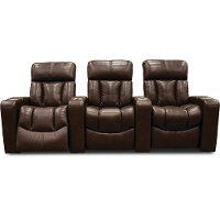 Alfresco Fudge 3 Piece Power Home Theater Seating - Paragon
